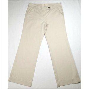 *SOLD* 10 J. CREW Women Chino Pants Trouser City